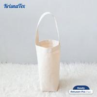 Tas Botol Kanvas ( Botttle bag / Wine tote bag )