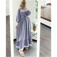 Dress Megana / Fashion Muslim / Dress Muslim Wanita / Gamis Wanita