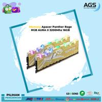 Apacer Panther Rage RGB AURA II 3200Mhz 16GB Dual Channel (2X8GB)