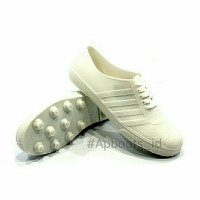 AP BOOTS PUL BOLA 963 PUTIH 100% ORI - Sepatu multifungsi murah best - Putih, 37