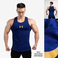 singlet kaos gym fitness pria olahraga - by311