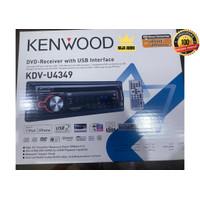 Kenwood KDV-U4349 Single Din DVD Receiver Head Unit Tape Audio Mobil