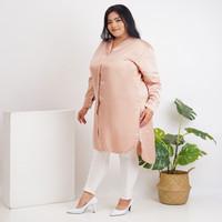 Anjani Tunik Wanita Big Size, Warna Rose Borneo - XXL