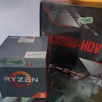 Ryzen 3 2200G dan asrock a320m hdv support m.2