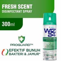 Wiz 24 Disinfectant Spray Aerosol 300ml