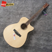 Gitar Yamaha FS400C FS-400C FS 400C Akustik Guitar Original