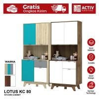 Activ Meja Dapur Minimalis / Kitchen Cabinet Serbaguna / LOTUS KC 80