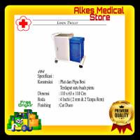Linen Trolley Laundry Besi Premium Termurah   Rumah Sakit Medis