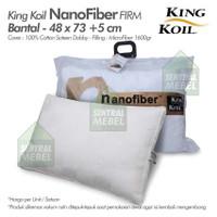 bantal king koil nano fiber firm - kingkoil pillow nanofiber firm