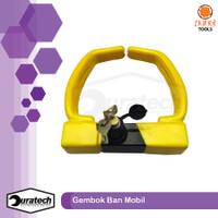 Gembok kunci ban mobil / Kunci gembok mobil universal / Wheel lock key