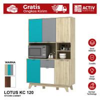 Activ Meja Dapur Minimalis / Kitchen Cabinet Serbaguna / LOTUS KC 120