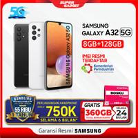 Samsung Galaxy A32 5G RAM 8 ROM 128 8GB 128GB Smartphone Resmi SEIN