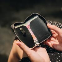 Dompet Kunci STNK Kulit Asli Leather Key Wallet Ramble Sika IV Black