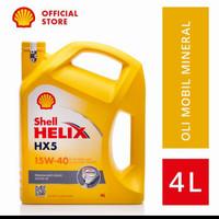 Oli Mesin Shell Helix HX5 Sae 15W-40 Galon 4 Liter Original