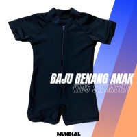 Baju Renang Diving Anak Bayi Balita Baby Laki laki Perempuan Polos - M Baby 8kg