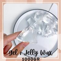 Raw Jelly Gel Wax Bahan Lilin Kristal Transparan Clear Tidak Berwarna