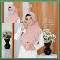 Jilbab Hijab Kerudung instan Latisza ZALINA Bergo Masker Murah Zoya ZM