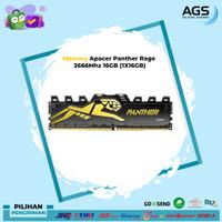 Apacer Panther Rage 2666Mhz 16GB (1X16GB)