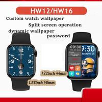HW12 HW16 Smartwatch Apple iWatch 6 Jam Tangan Pintar 44 40mm