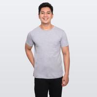 Kaos Polos Buffalo T-Shirt - Abu Misty - F030004