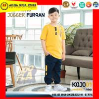 Setelan Baju Koko dan Celana Jogger Anak Laki Hoofla Kids - KOJO