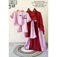 Baju Couple Keluarga Muslim Busana Muslim Keluarga Baju Muslim Family