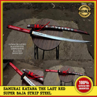 SAMURAI KATANA THE LAST RED SUPER BAJA STRIP STEEL