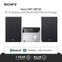 Sony CMT-SBT20 Speaker Audio Hi-Fi Bluetooth - Black Original