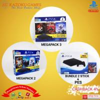 PS4 PS 4 PLAYSTATION 4 SLIM BUNDLE MEGAPACK 1TB GARANSI SONY