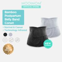 MOOIMOM Bamboo Postpartum Band Korset Pelangsing Pasca Melahirkan