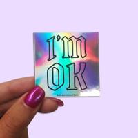 Cetak Stiker Hologram Anti Air + Cutting / Fullcolor / Custom - Print