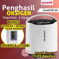 Yuwell 8F-5AW oxygen concentrator generator penghasil oksigen 5LITER