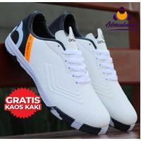 Sepatu Futsal Ortseigh Extend Olahraga Pria - Hitam, 39