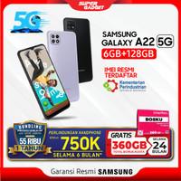 Samsung Galaxy A22 5G 6/128 GB RAM 6 ROM 128 GB Smartphone Resmi SEIN