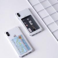 Pocket anticrack card case iphone 7/8 ,7plus/8plus - iphone7/8