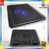 Cooling Fan Pad Stand Dudukan Laptop Ultra Thin Radiator Cooling Base
