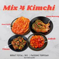 MIX KIMCHI 4 Varian   Berat Total 1 Kg