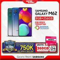 Samsung Galaxy M62 RAM 8 ROM 256 8GB 256GB Smartphone Resmi SEIN