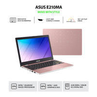NOTEBOOK ASUS E210MA GJ423TS N4020 GRAPIC 600 4GB 256GB WIN10+OHS ROSE