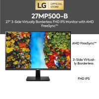 LG 27MP500-B 27 FHD IPS Monitor AMD FreeSync™ 75Hz HDMI