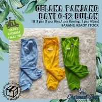 Setelan Baju Bayi / Pakaian Bayi Lengan Pendek Celana Panjang /Newborn
