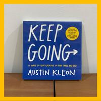 Buku Import Keep Going by Austin Kleon (Original Paperback)