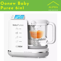 Oonew Baby Puree MICHELIN BABY FOOD Processor Warna Silver
