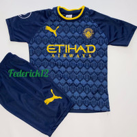 Stelan baju bola anak man.city away jersey terbaru - CITY NEVY, 4