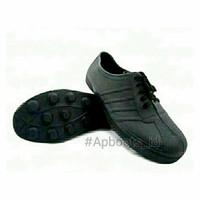AP BOOTS PUL BOLA 967 HITAM 100% ORI - Sepatu Ap boots multifungsi pro