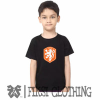 Tshirt Baju Kaos Anak Timnas Belanda Logo - Fiksi Clothing