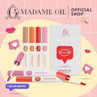 Madame Gie Lip Matte +62 - Make Up Lipstick