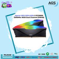 Apacer NOX RGB AURA II PC25600 3200Mhz 16GB Dual Channel (2X8GB)