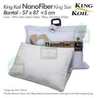 bantal king koil nano fiber comfort pillow king size nanofiber pillow