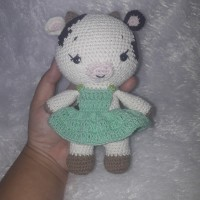 Boneka Amigurumi Sapi handmade rajutan